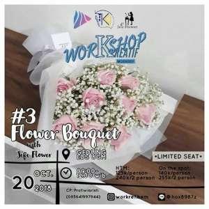 """Workshop Kreatif """"Flower Bouquet"""""""