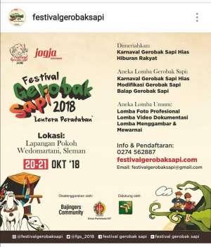 Festival Gerobak Sapi 2018