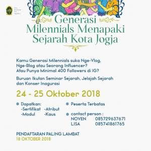 Generasi Milenial Menapaki Sejarah Kota Yogyakarta