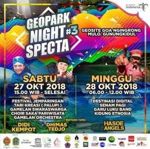 Geopark Night Specta 2018