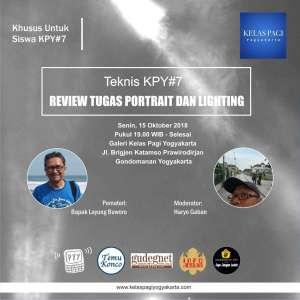 KPY Teknis Review Tugas Portrait & Lighting