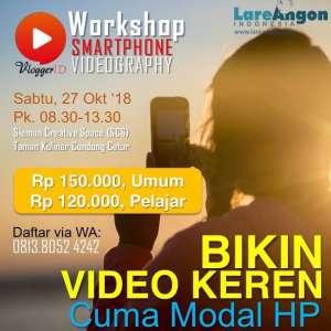 Workshop Smartphone Videography