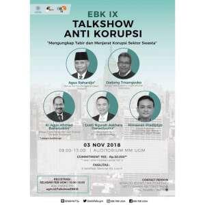 Talkshow Anti Korupsi