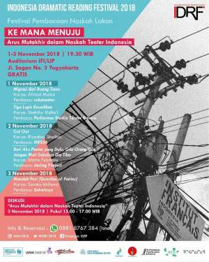 Indonesia Dramatic Reading Festival 2018