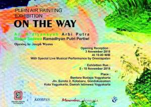 "Plein Air Painting Exhibition ""On The Way"""