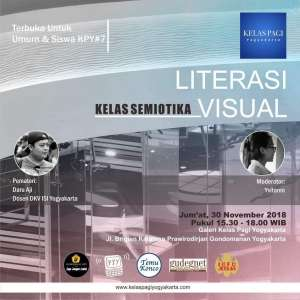 Literasi Visual: Kelas Semiotika