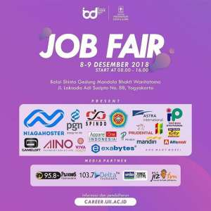 Job Fair UII Integrated Career 2018