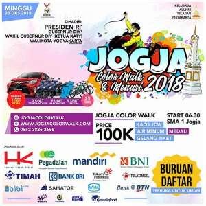 Jogja Color Walk & Menari 2018