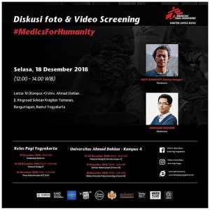 Diskusi Foto dan Video Screening 2018