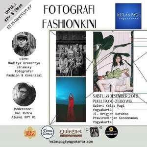 KPY#7 : Fotografi Fashion Kini