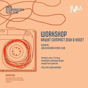 Workshop Rawat Compact Disk & Kaset