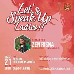 Let's Speak Up  Ladies