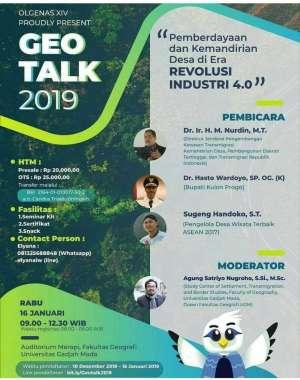 Geo Talk 2019