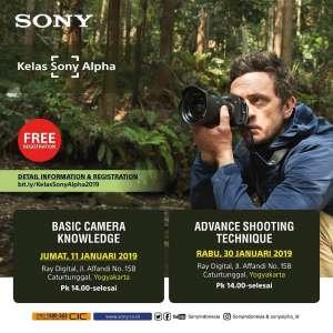Workshop Sony by Ray Digital
