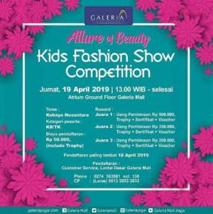 Kartini Kids Fashion Show Galleria Mall