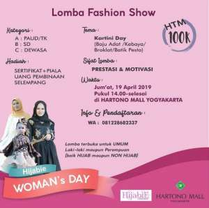 Lomba Fashion Show Hartono Mall Jogja