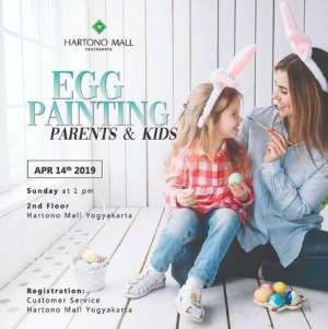 Parent & Kids Egg Painting