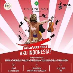 Saga Art Fest - Aku Indonesia!