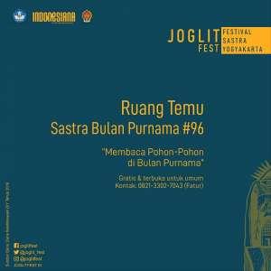 RUANG TEMU JOGLITFEST 2019: Sastra Bulan Purnama #96
