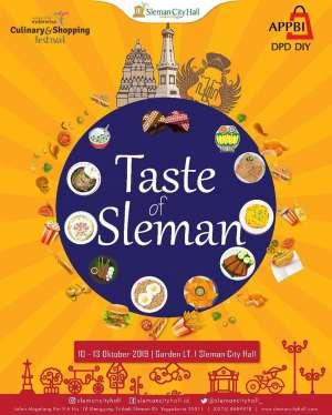Taste of Sleman
