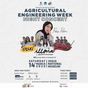 NIGHT CONCERT AGRICULTURAL ENGINEERING WEEK 2020
