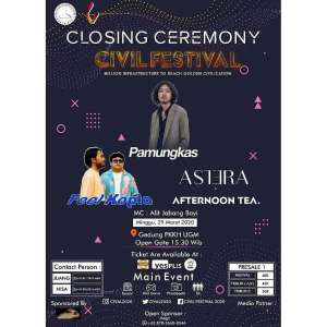 CLOSING CEREMONY CIVIL FESTIVAL 2020