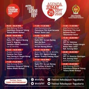 Agenda FKY Hari Ke-5 FKY 2020 Mulanira 2
