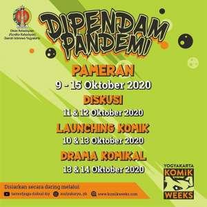Yogyakarta Komik Weeks ''Dipendam Pandemi''