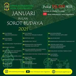 Januari Bulan Sorot Budaya 2021