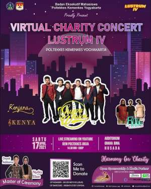 VIRTUAL CHARITY CONCERT LUSTRUM-lV