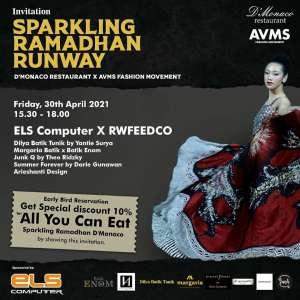 Sparkling Ramadhan Runway D'Monaco x AVMS Fashion Movement