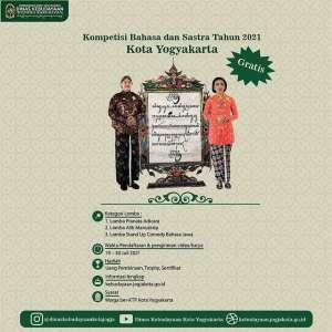 Kompetisi Bahasa dan Sastra Kota Yogyakarta 2021