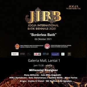 Jogja International Batik Biennale 2021 'Borderless Batik'