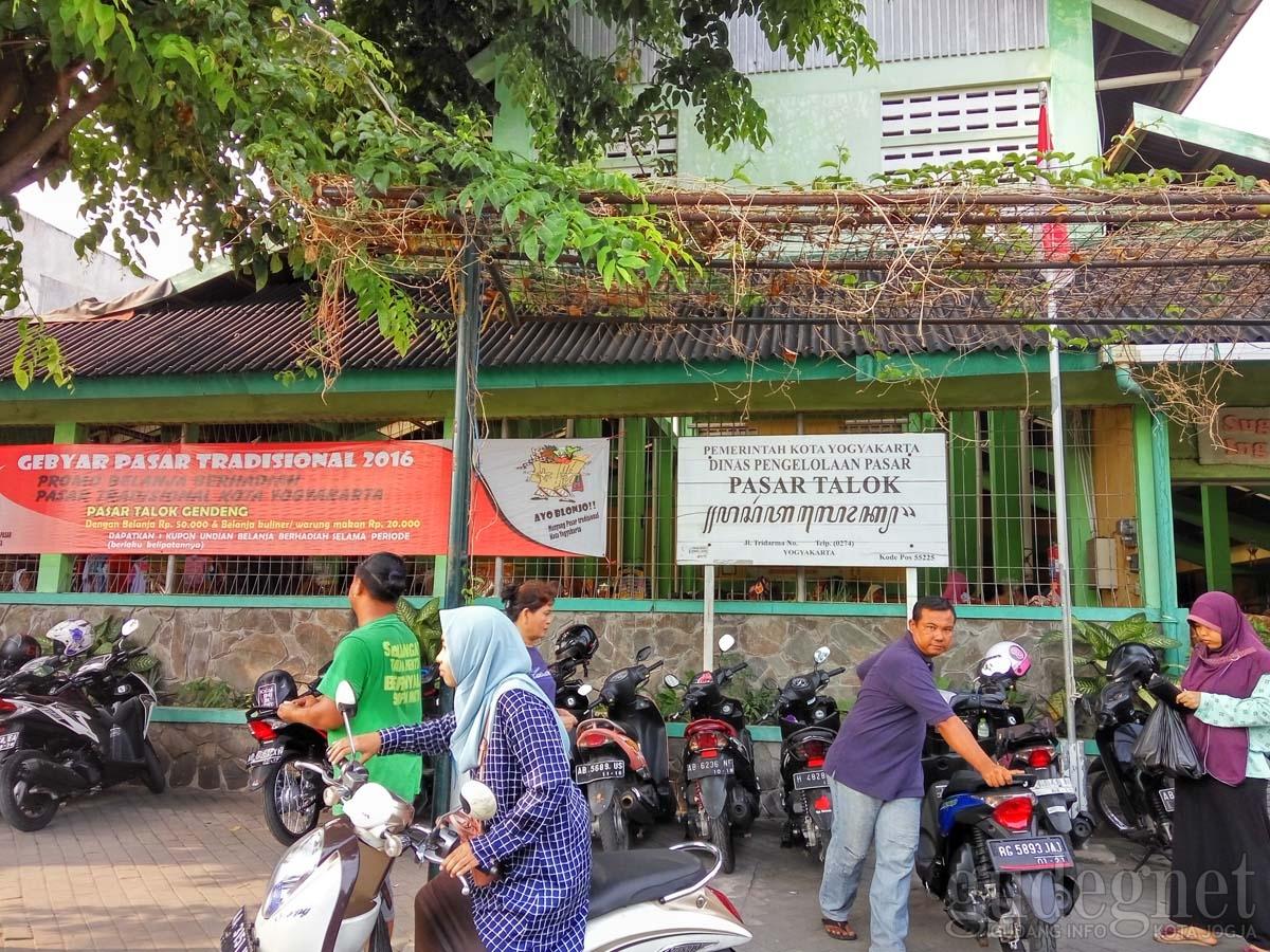 Pasar Talok Gendeng Yogyakarta