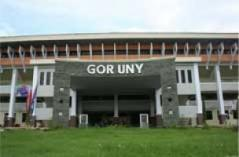 Gedung olahraga (GOR) UNY Yogyakarta