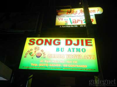 Gudeg Song Djie Bu Atmo
