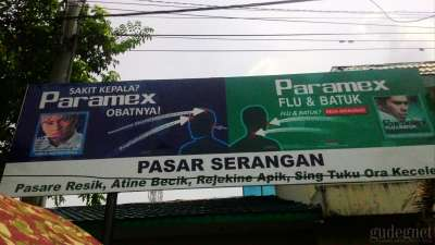 Pasar Serangan Yogyakarta