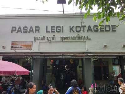 Pasar Kotagede Yogyakarta