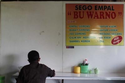 Warung Empal Bu Warno Yogyakarta