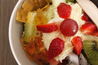 Kedai Salad Buah Seger Abizz