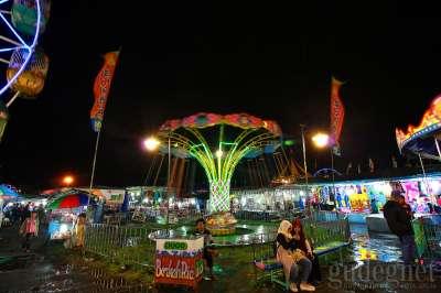 Perayaan Sekaten Alun-alun Utara Keraton Yogykarta