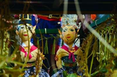 Boneka Pengantin dalam Upacara Bekakak Saparan