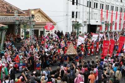 Pawai Festival Kebudayaan Yogyakarta 2019