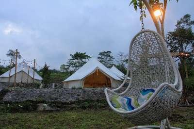 Glamping Kaki Gunung Merapi