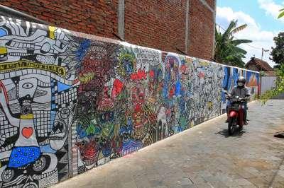 Mural Kampung Taman, Tamansari
