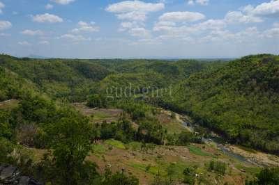 Sungai Oya dari Tebing Watu Mabur (Trida-2020)