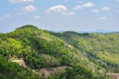 Pemandangan dari Tebing Watu Mabur (Trida-2020)