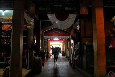 Pasar Beringharjo Sepi