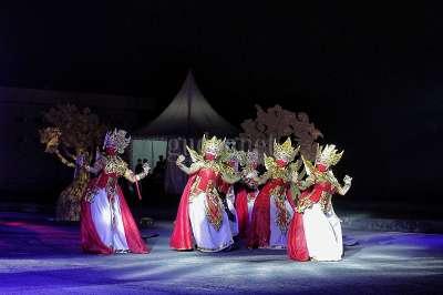 Tarian Kolosal HUT Ke-265 Kota Yogyakarta