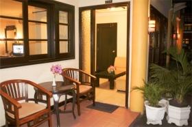 Teras Hotel Grage Yogyakarta